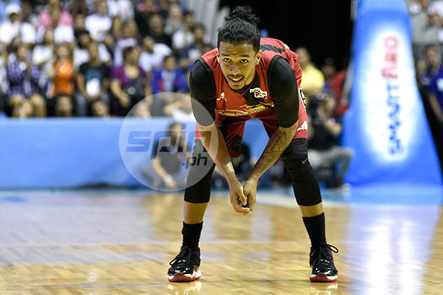 Chris Ross doesn't mind going through another overtime, so long as San Miguel keeps winning