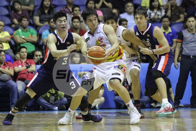 Rain or Shine poster boy Chris Tiu won't hesitate to get in middle of physical plays