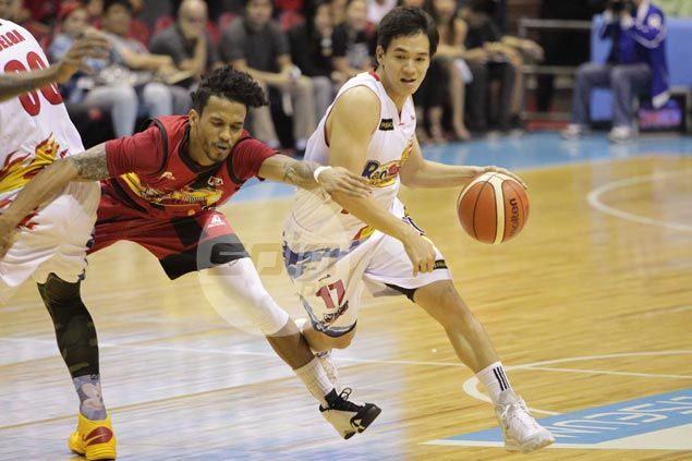 Chris Tiu reconsidering retirement plan: 'I never thought I'd enjoy playing this much in this level'
