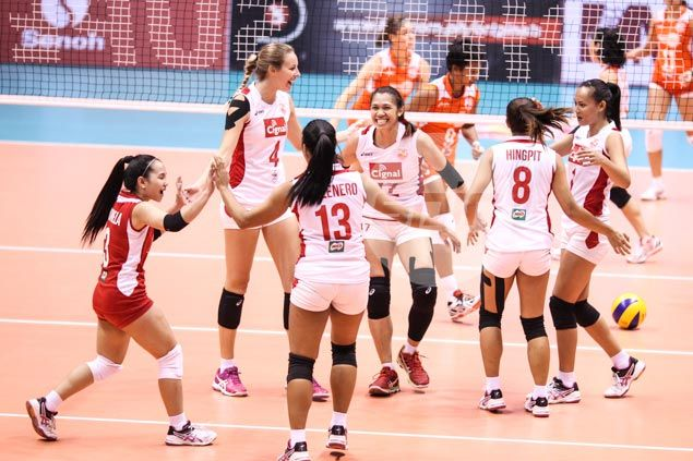 Cignal blows past Meralco to seal semifinal showdown with champion Petron