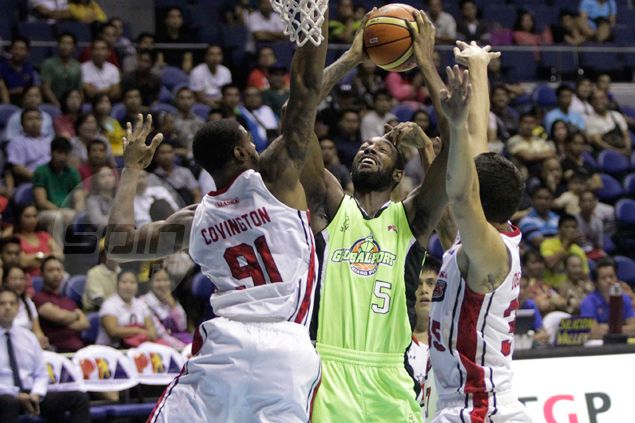 GlobalPort hammers injury-hit Alaska as import CJ Leslie goes out with a bang