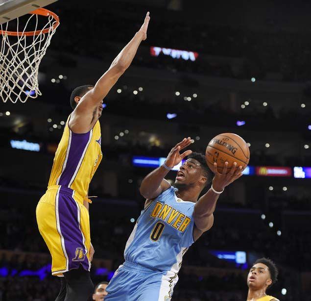 Jordan Clarkson's career-high 30 in vain as Denver Nuggets keep LA Lakers winless