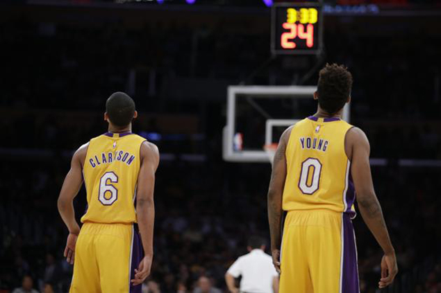 LA Lakers guards Jordan Clarkson, Nick Young facing sexual harassment allegations