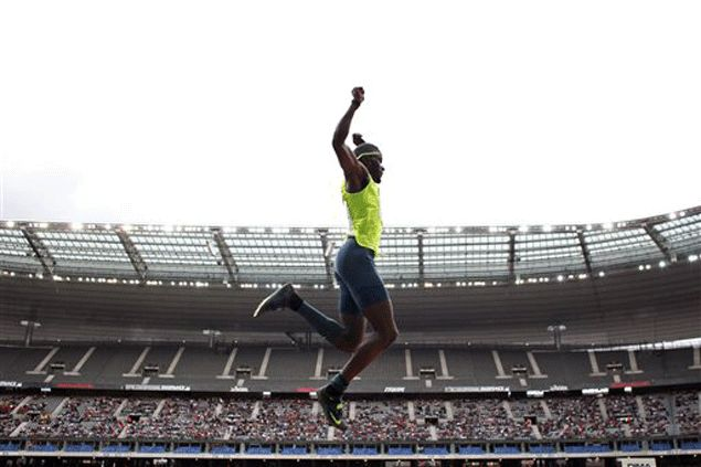 Athlete-turned-rapper Will Claye prefers a gold medal over a gold record