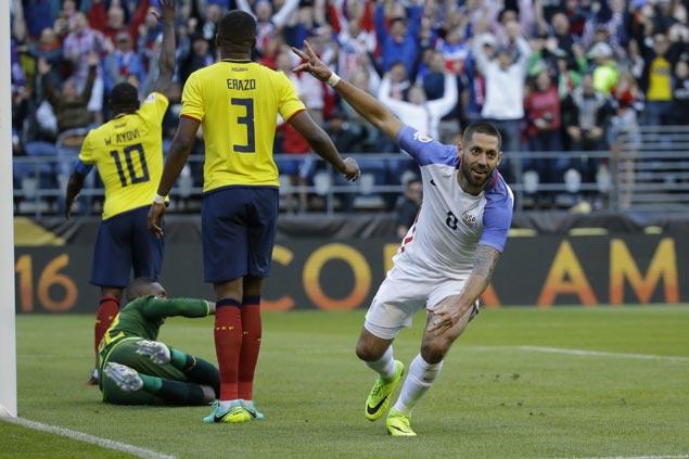 Dempsey, Zardes send US into Copa America semis with chippy win over Ecuador