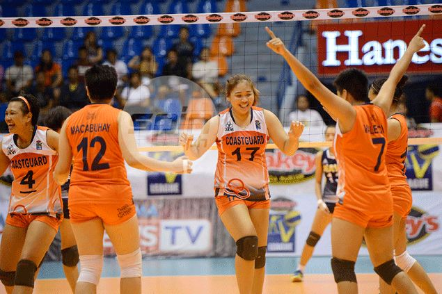 Coast Guard fights back to eke out thrilling five-sets win over hard-luck KIA Forte