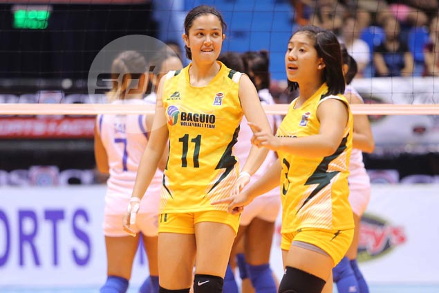 Winless V-League stint no dampener for Baguio's Colleen Rossi as she graduates with honors