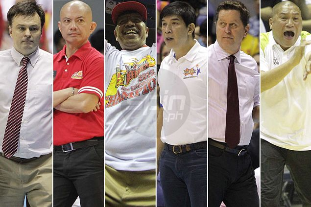 San Miguel, Talk 'N Text, Ginebra tagged as favorites in poll of PBA coaches