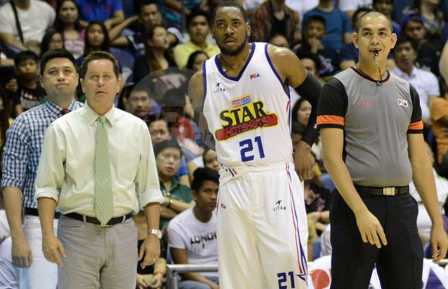 Is Purefoods becoming overly dependent on in-form Denzel Bowles? Tim Cone fears so