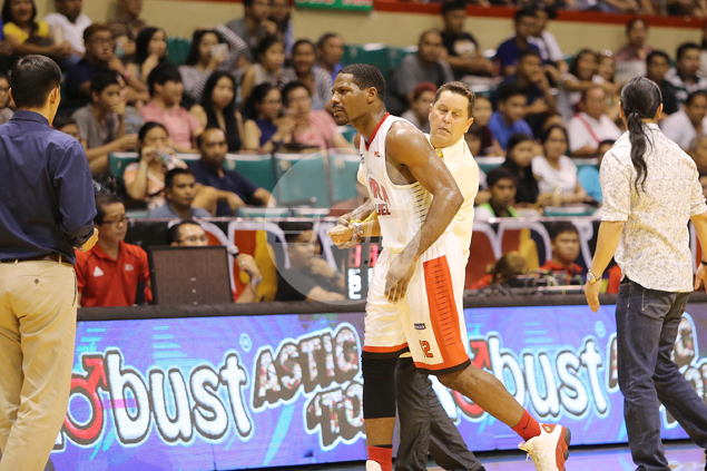 Tim Cone open to bring back Othyus Jeffers as possible Ginebra replacement for injured Paul Harris
