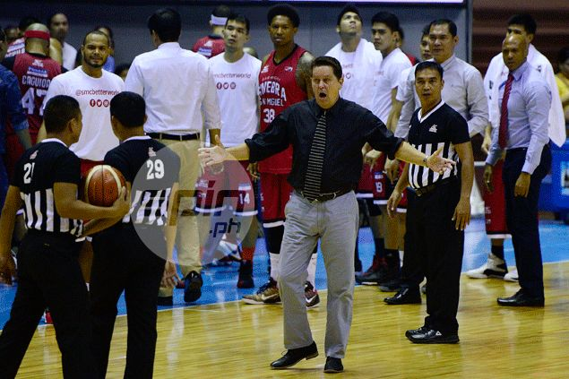 Tim Cone hints wanting to see results this time as Ginebra faces Blackwater in Angeles