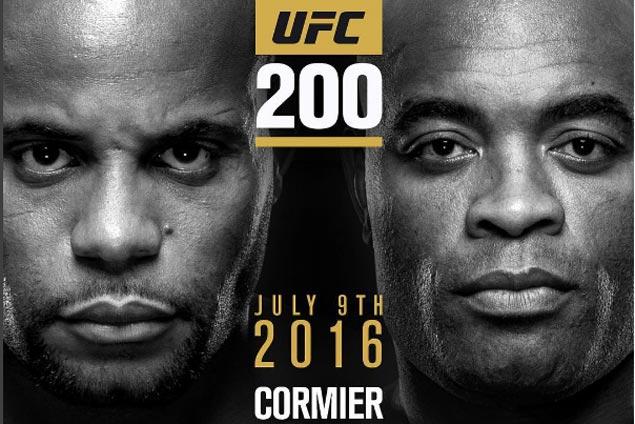 Anderson Silva takes Jon Jones' place against Daniel Cormier at UFC 200