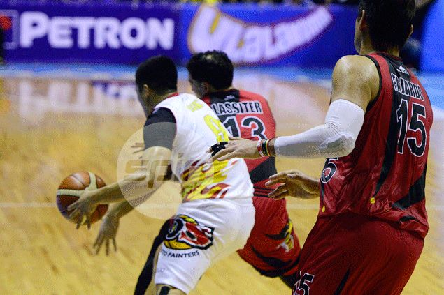 Marcio Lassiter says there's no intention to hurt Jericho Cruz as RoS guard goes down with knee injury
