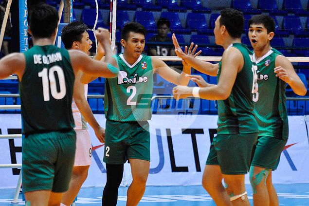 St. Benilde boosts quarterfinals bid in Spikers' Turf after turning back Arellano