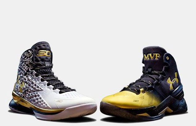 Steph Curry's Under Armour Back to Back MVP sneakers sold out minutes after release