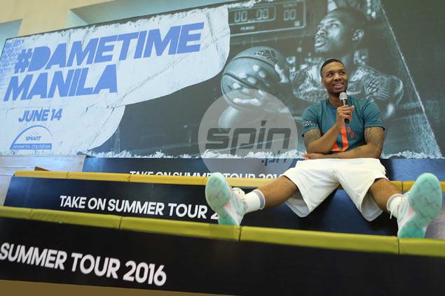 Kevin Durant tops Damian Lillard's free agent wishlist as Portland star begins Manila leg of Asian tour