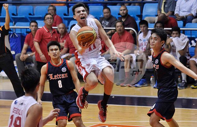 Dan Sara proves he's up to the task as alternate to injured San Beda chief playmaker Baser Amer