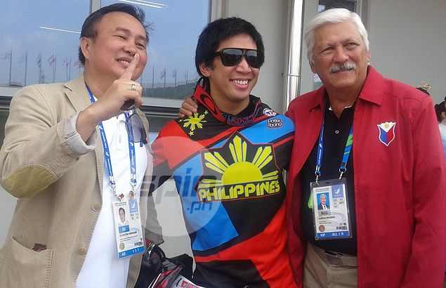 BMX rider Daniel Caluag hopes he won't be the last Filipino gold medallist in Incheon Asiad
