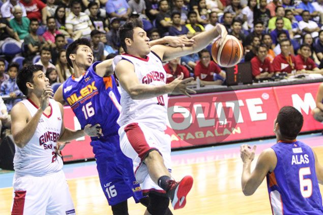 Role player Dave Marcelo proud to fill the slack as Ginebra starters struggle vs NLEX