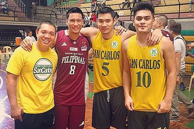 'Cebuano connection' hopes to turn things around for UP Maroons
