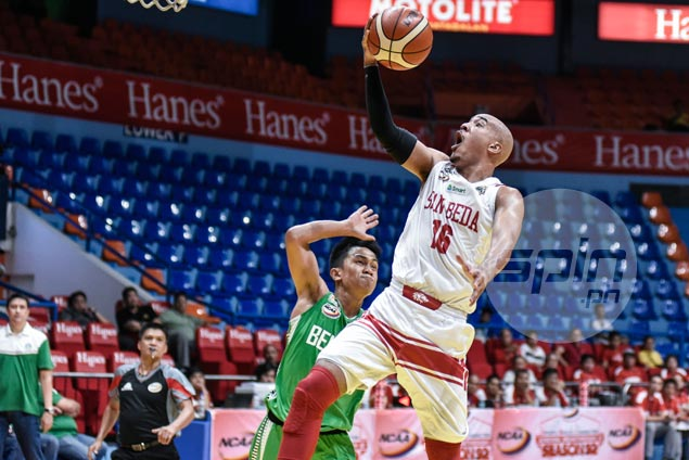 Hot-shooting San Beda keeps slate unblemished with rout over winless Benilde