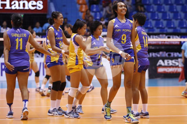 Air Force confident Dell Palomata can hold her own against imports in V-League