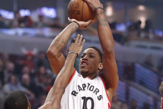 DeRozan catches fire early, Lowry leads the way late as Raptors ground surging Hawks