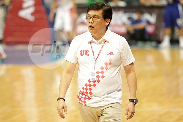 UE Warriors sticking with all-Filipino lineup for UAAP Season 79, says Pumaren