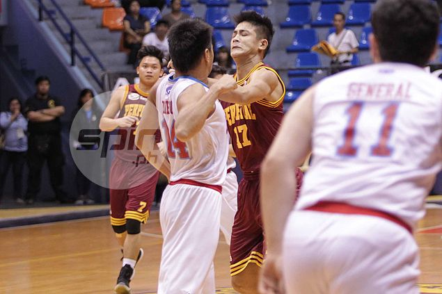 Ejected players from Perpetual, EAC take fight outside, trade punches after game