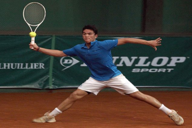 Jeson Patrombon, Diego Dalisay off to roaring starts in ITF Men's Futures 2