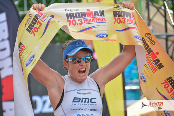 Dimity-Lee Duke seeks Philippine double, eyes Cebu 70.3 title after topping 5150 triathlon in Subic