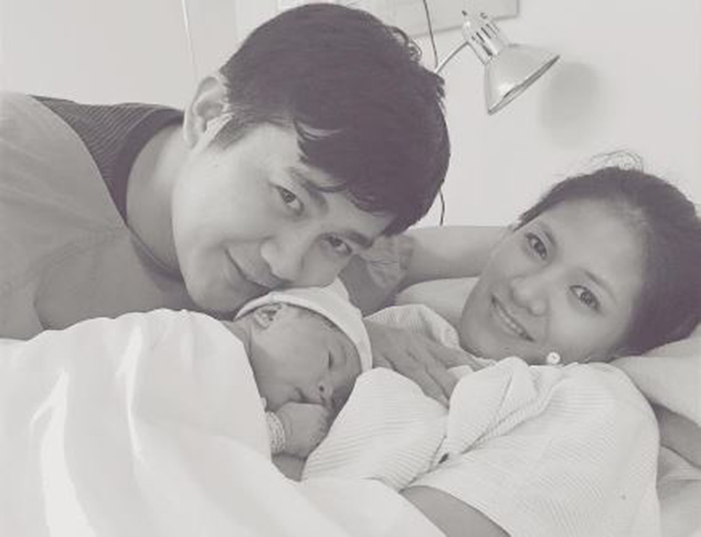 Dindin Santiago-Manabat now a mom after giving birth to bouncy baby girl