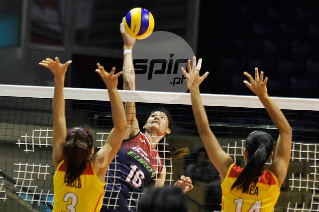 Dindin Santiago, Daquis show way as Blaze Spikers rip Tornadoes to stay perfect in Super Liga