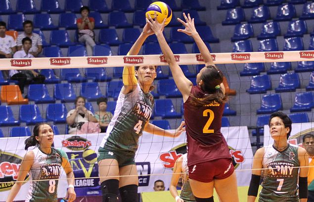 Fancied Philippine Army, Cagayan Valley meet again as Shakey's V-League title series underway