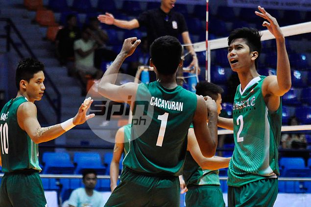 La Salle-Dasmarinas ends Spikers' Turf campaign on a high note