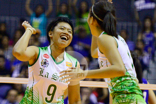 Kim Fajardo playing final UAAP season at La Salle, says she can't bear to leave Lady Spikers