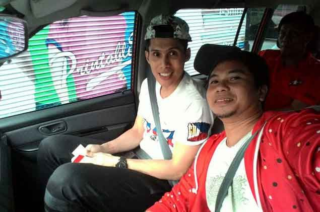 Uber driver so thrilled after driving PBA star Dondon Hontiveros to a game