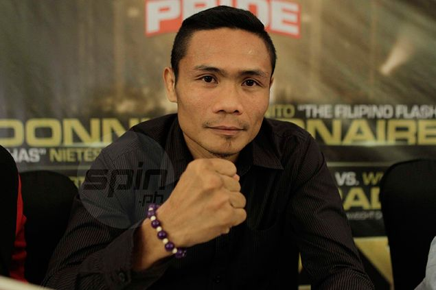 Donnie Nietes doesn't mind getting less of the spotlight as Nonito Donaire Jr. also sees action in Pinoy Pride 30