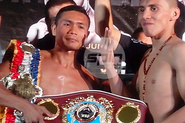 World champ Donnie Nietes confidence grows as challenger struggles to make weight