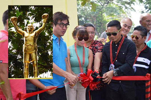 Move over, Rocky. Donnie Nietes gets his own life-sized statue in hometown Murcia
