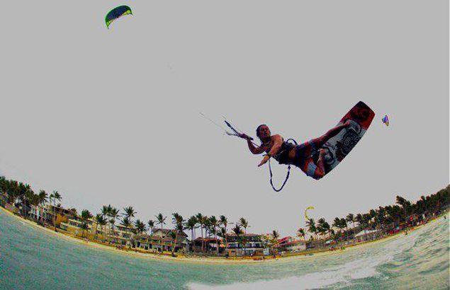Doque Delos Santos dominates foreign field in Cagayan leg of Philippine Kiteboarding Tour