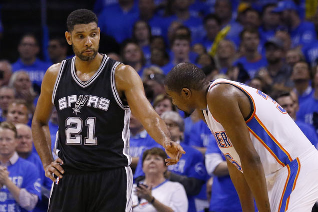 Resurgent Durant, confident role players give OKC Thunder chance against mighty Warriors