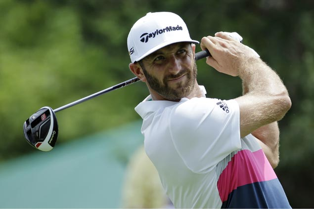 Dustin Johnson takes spotlight from golf's 'Big Three' with fast start at Memorial