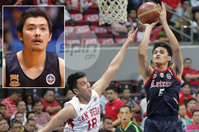 Franz Dysam never won title with Letran, but has one contribution to champion Knights team
