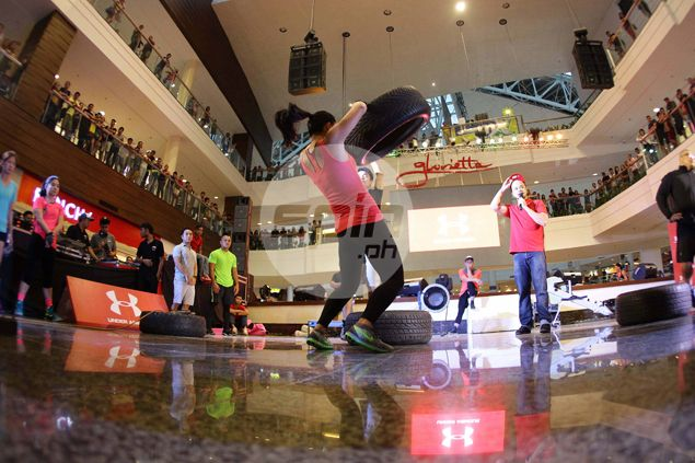 Team Drago proves the fittest in 'Earn Your Armour' war at Glorietta