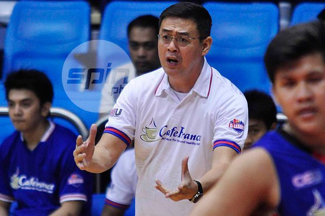 Bakers' improved transition defense key to Game Two win, says coach Egay Macaraya