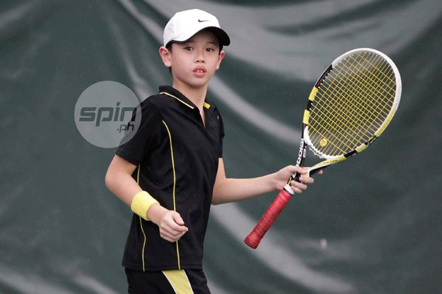 Young Edgardo Angara takes the court in an altogether different field