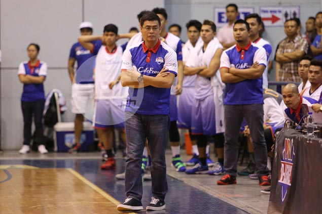 Complacency caused CafeFrance's Game 1 loss in D-League Finals, says coach Egay Macaraya