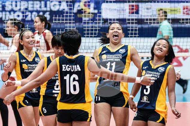 Navy displays grit to eke out thrilling five-sets win over hard-luck Cignal