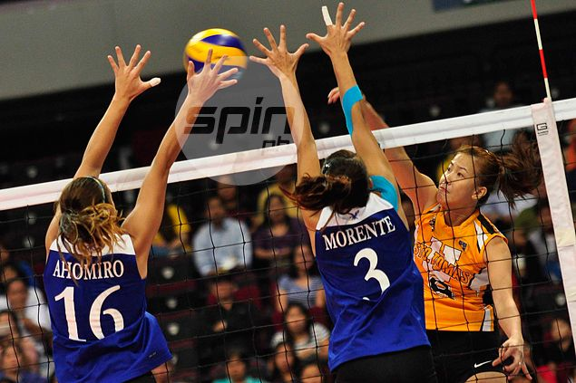 Spotlight on promising new faces as UST Tigresses, Lady Eagles clash in V-League opener